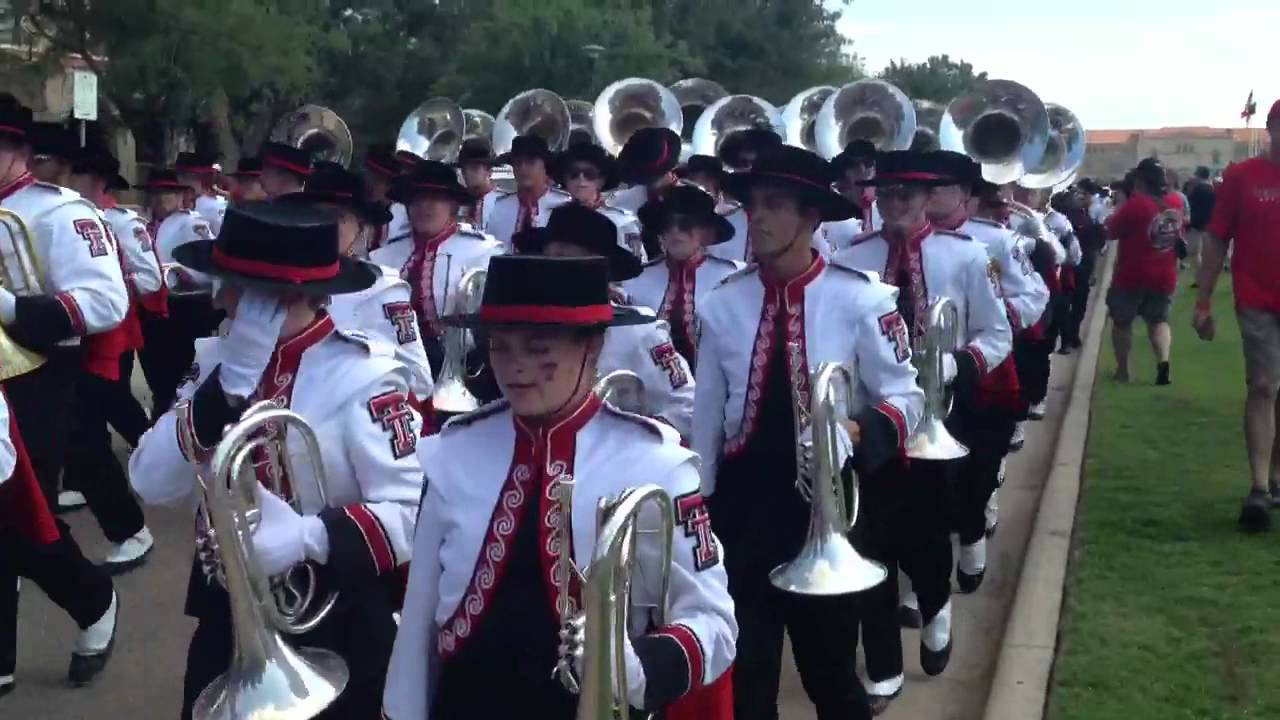 Texas Tech Red Raider Goin' Band from Raiderland - YouTube