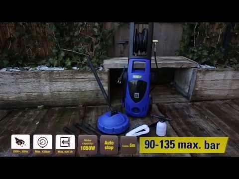 Onwijs 871125252520 Kinzo hogedrukreiniger - YouTube LW-96