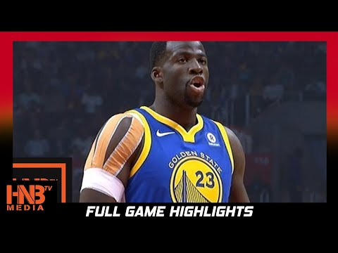 Golden State Warriors vs LA Clippers 1st Qtr Highlights / Week 2 / 2017 NBA Season
