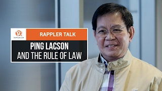 Video Rappler Talk: Ping Lacson and the rule of law download MP3, 3GP, MP4, WEBM, AVI, FLV Agustus 2017