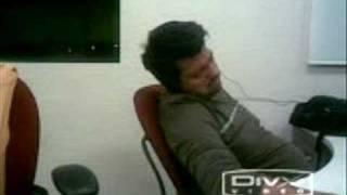Getronics AHST  guy snoring