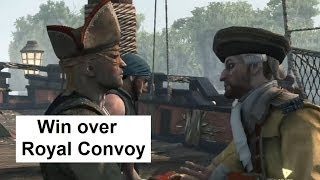 AC4 Naval Battle First Win Over Royal Convoy. Jackdaw Upgrades. Assassin