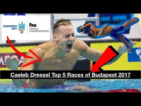 Caeleb Dressel: Top 5 Races of Budapest 2017