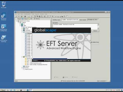 How to Use Globalscape Automated Workflow Engine Variables in EFT