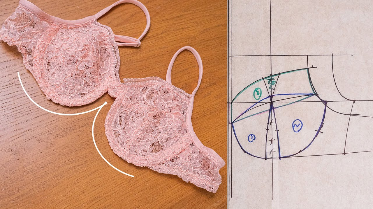 Download How to Make a Bra Pattern Tutorial {DETAILED SEWING TUTORIAL INCLUDED}