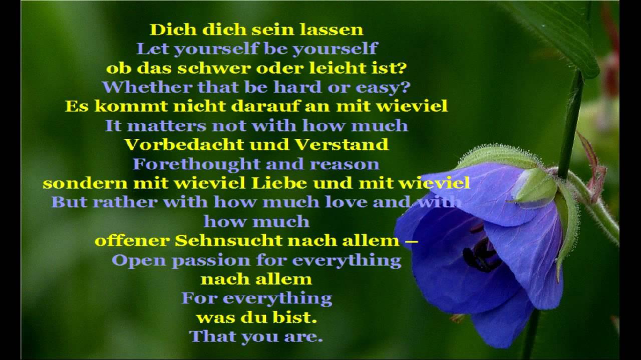 Erich Fried Dich