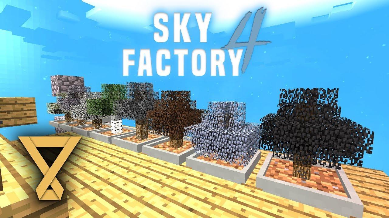 Bonsai Pot Farm Skyfactory 4 3 Let S Play Deutsch German Youtube