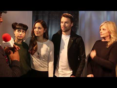 Chat w the cast of new CBC drama television series