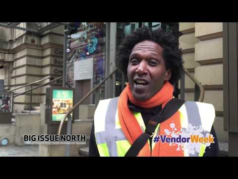 VendorWeek2016 Big Issue North: Lemn Sissay