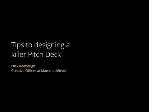 Accelerate MI: Pitch Deck Design Workshop - DETROIT