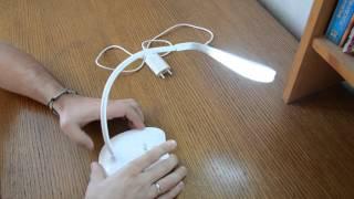 Обзор светодиодной настольной лампы