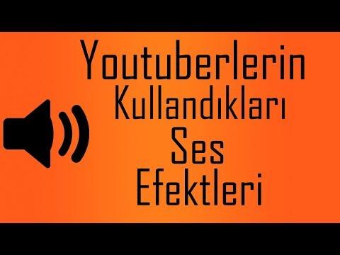 Youtuberların Kullandıkları Ses Efektleri (TELİFSİZ)