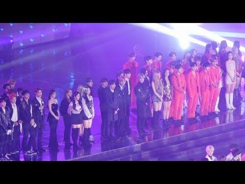 181225 블랙핑크(BLACKPINK),방탄소년단(BTS),레드벨벳(Red Velvet) 전출연진 오프닝(OPENING),에이핑크,NCT [4K] 직캠 (가요대전) by Mera