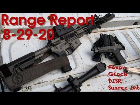 Range Report 8-29-2020