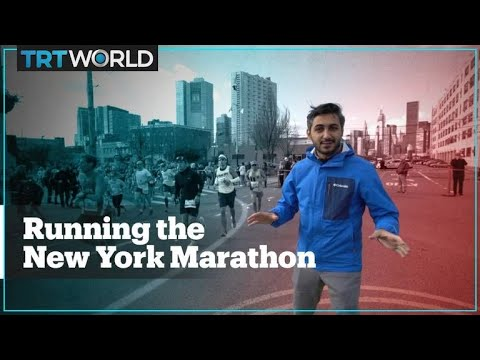 What's it like to run the New York City Marathon?