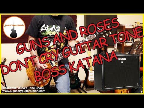 BOSS KATANA – SLASH GUITAR TONE!!! Vintage AFD Paradise 100 Guitar