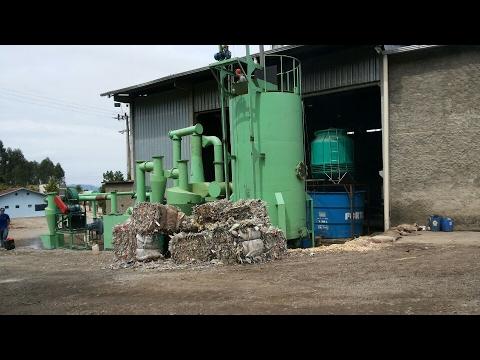 MSW Gasifier in Brazil uses paper mill waste