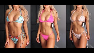 5£ PRETTY LITTLE THING BIKINIS...WHAT?! TRY ON HAUL