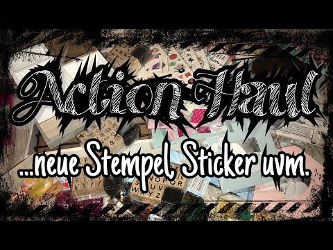 Action Haul Mit Tollen Fruhlings Bastel Sachen Sticker Papier