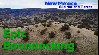 BOONDOCKING in the Gİla National Forest ~ New Mexico Hot Springs