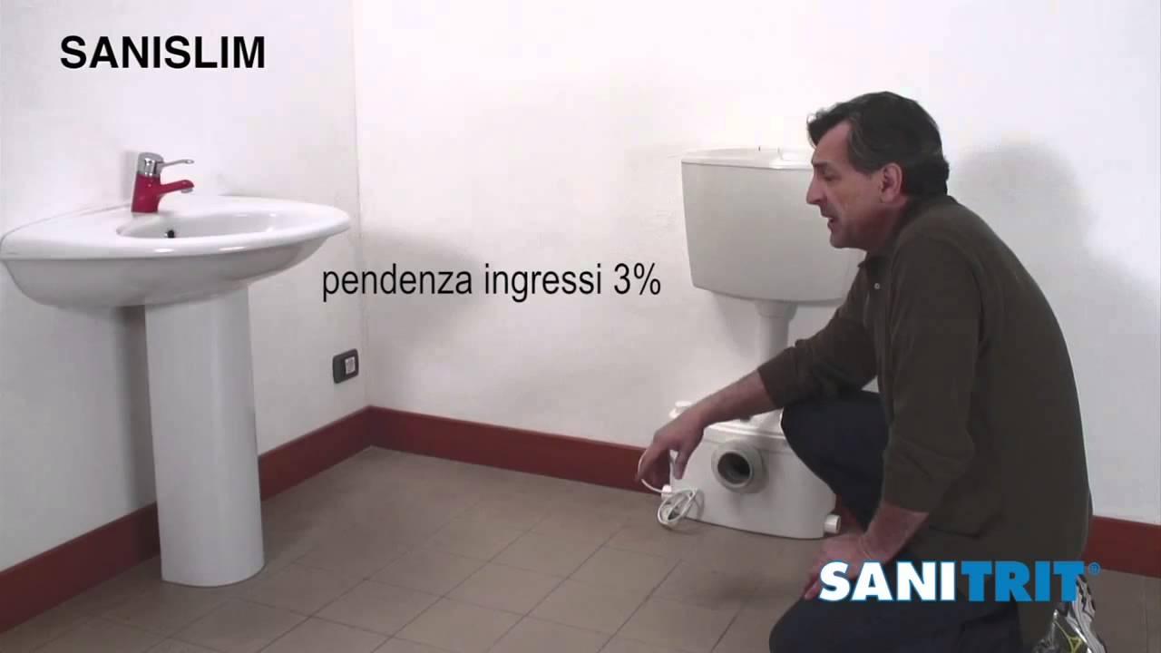 Come realizzare un bagno anche senza gli scarichi - YouTube