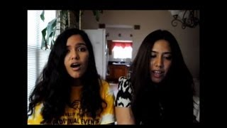 Repeat youtube video Get Lucky / Tujhe Bhula Diya Cover by Shwetha and Sushmitha Suresh