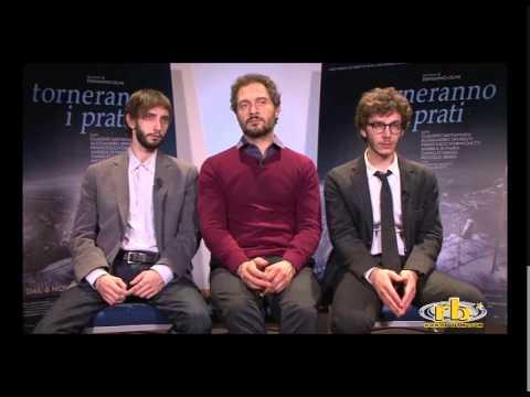 Santamaria, Sperduti e Formichetti - Intervista Torneranno i prati, RB Casting