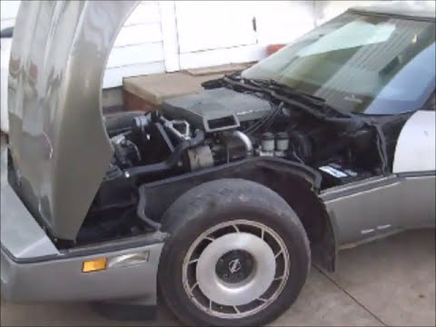 1984 Corvette Crossfire Sound And Reliable Engines Youtube