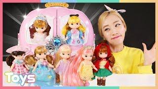 [엘리] 리틀미미 인형 친구들과 즐거운 피크닉 놀이 | 캐리와장난감친구들