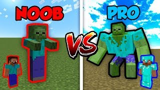Minecraft NOOB vs. PRO: ZOMBIE MUTANT in Minecraft!