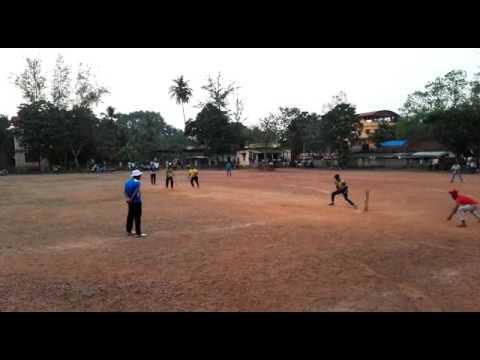 Mk nvaz and Mk jaki batting.....D group vitla