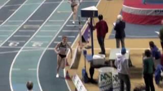 400m vrouwen serie 4, BK indoor Gent 2010