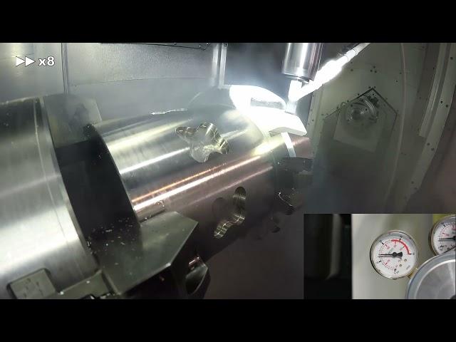 PROCODA. Demostrador de mecanizado asistido por refrigeración criogénica CO2.