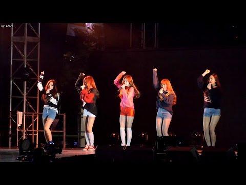 151004 레드벨벳 (Red Velvet) Huff n Puff  [전체]직캠 Fancam (영동대로) by Mera