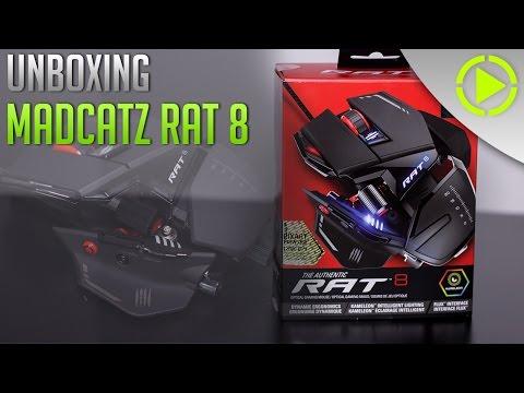MADCATZ RAT 8 | Powered By MADCATZ | Unboxing