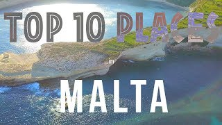 TOP 10 PLACES TO VISIT IN MALTA