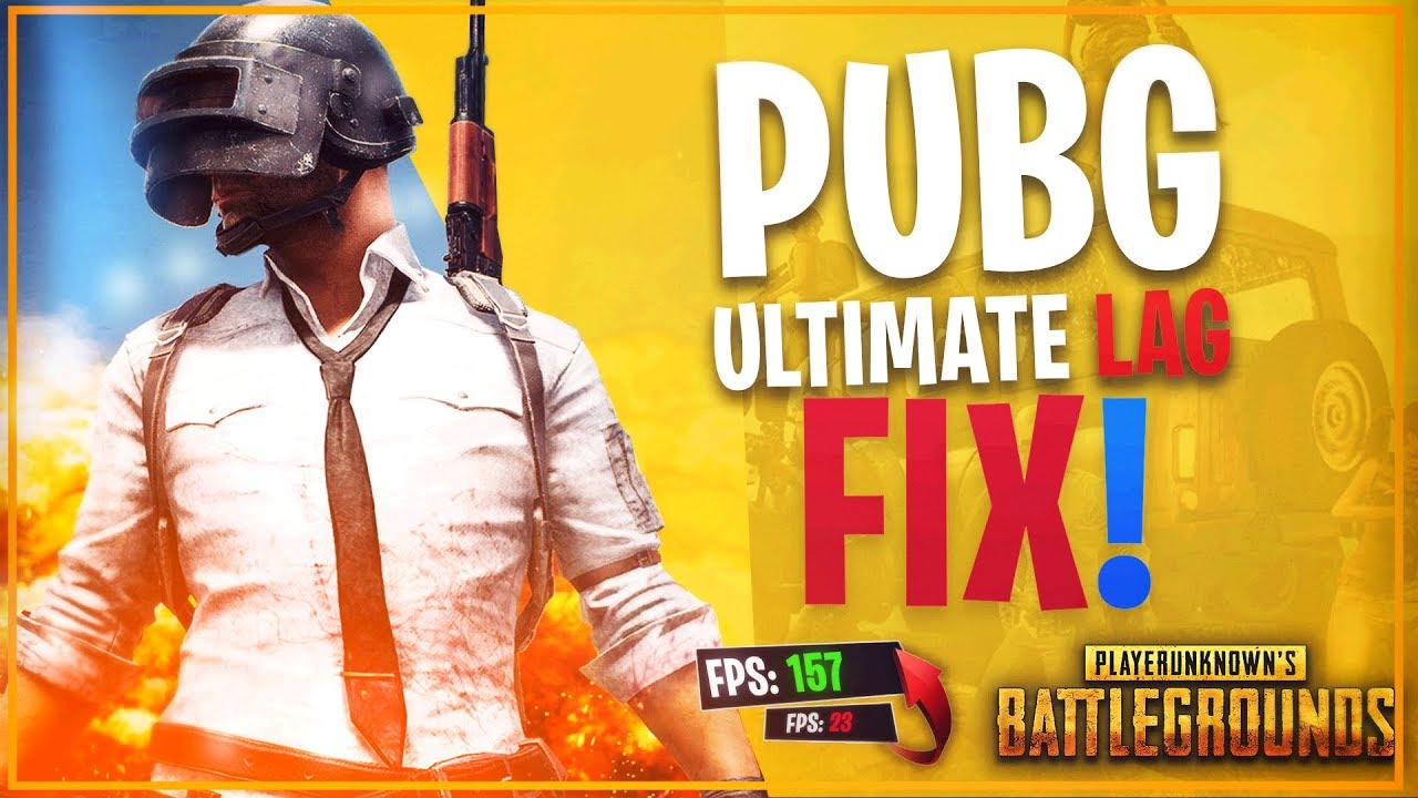 🔧How To Fix PUBG Lag For PC & Laptops (2019)