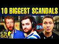 Top 10 Biggest Scandals In CS:GO History