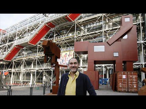 Explicit sculpture finds new home at Pompidou Centre