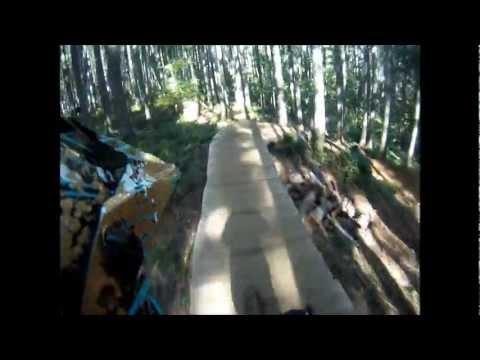 Black Rock Mountain Bike Park Falls City Oregon Youtube