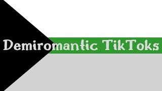 demiromantic tiktoks