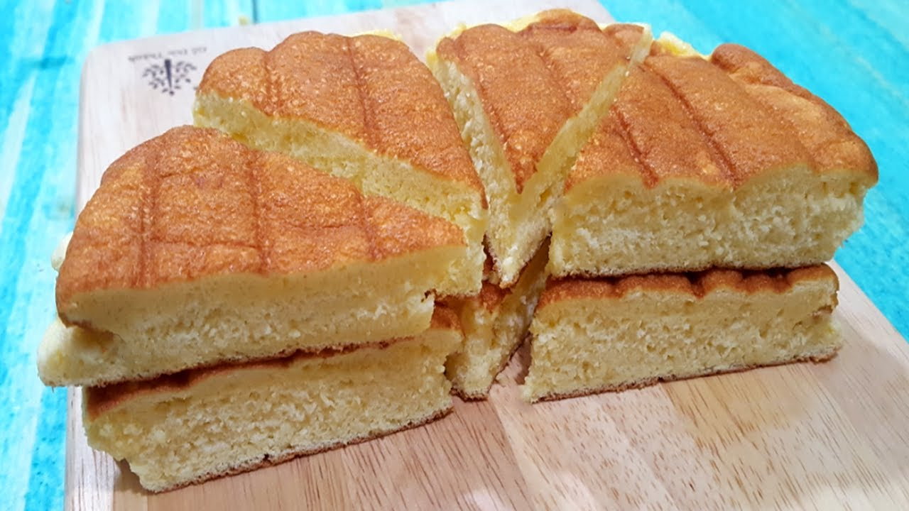 Cách Làm Bánh Bông Lan Bằng Chảo Mềm Xốp Đơn Giản Tại Nhà | Góc Bếp Nhỏ