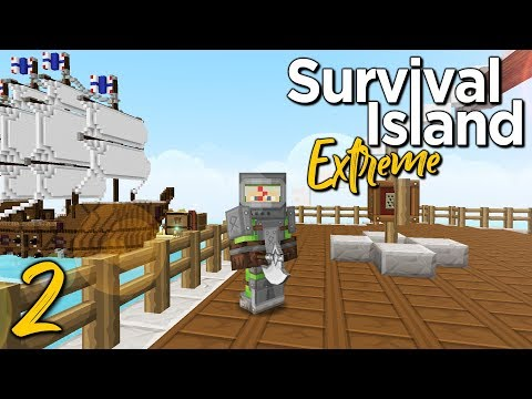 Survival Island Extreme [2] - LOAD OF SHIP! (Minecraft 1.12.2 Adventure Map)