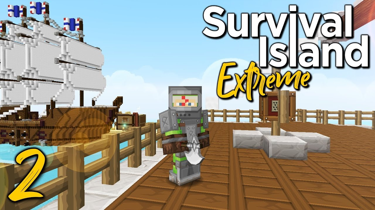 Survival Island Extreme 2 Load Of Ship Minecraft 1 12 2 Adventure Map