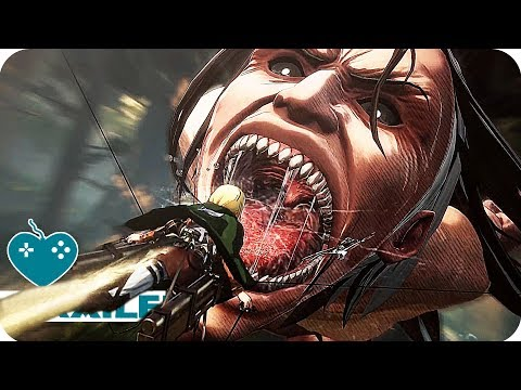 Attack on Titan 2 Cinematic Trailer (2018) PS4, Xbox One, PC, Nintendo Switch Game