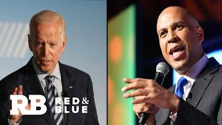 Biden fires back at Harris and Booker after being criticized over race