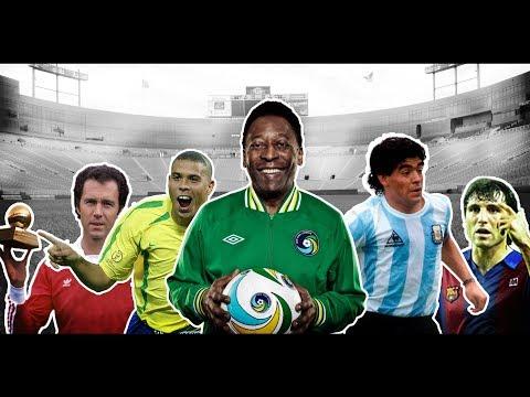 ТОП 10 Легендарни Футболисти! - Ft. Pele,Ronaldo,Maradona