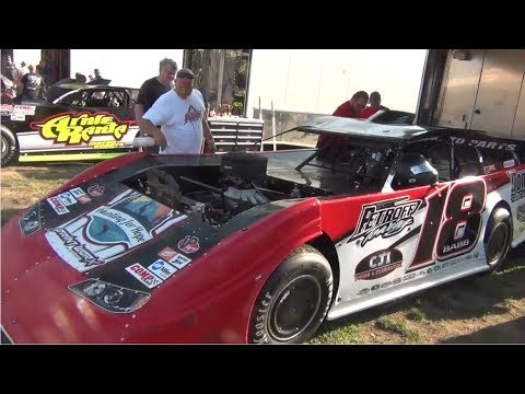 Lucas Oil Late Model Pits & Hot Laps @ Macon Speedway 2017