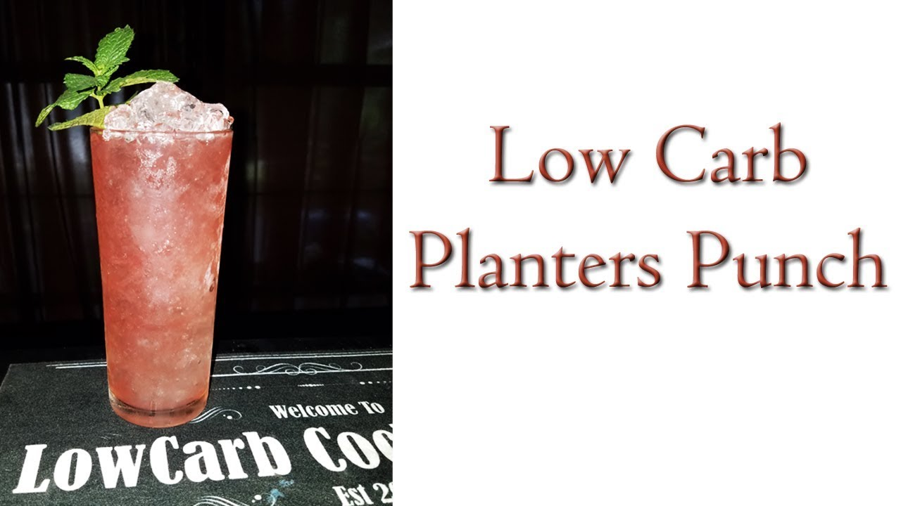 How To Make A Planters Punch - YouTube Planters Punch Trader Vic on