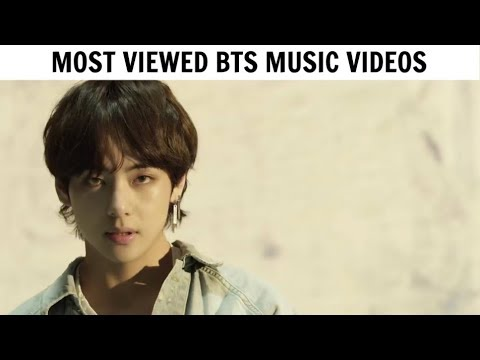 [TOP 30] Most Viewed BTS Music Videos | June 2018